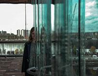 window & girl