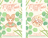 Minnow & Moss Card Backing