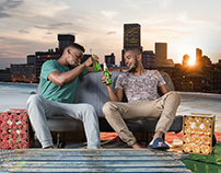 CONSOL GLASS Campaign 'for the moments that count'
