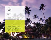 Branding, Frozen Lima Asia