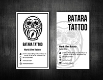 Batara Tattoo Business Card Study