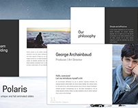 Polaris - Free PowerPoint Template