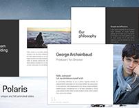 Polaris - Free PowerPoint Template