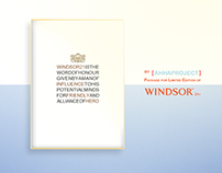 Limited edition package for WIndsor 21y