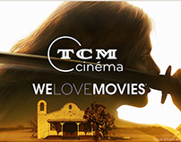 Promotional visuals for TCM Cinéma