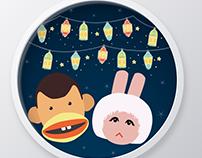 Ramadan Cartoon Characters-Bogy&Tamtam