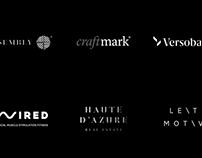 Various logos 2015-2018