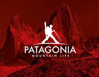 Patagonia Mountain Life Branding