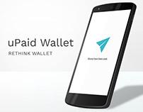uPaid Wallet - Mobile Wallet Prototype