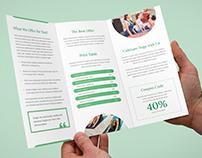 Brochure – Yoga Tri-Fold Template