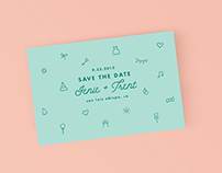 Icon Wedding Invitations Suite - Bold Paper Co