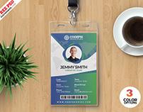 Print Ready Identity Card Design PSD