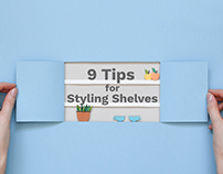 The Spruce. 9 tips for styling shelves.