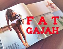 Fat Gajah Illustration 2015 - 2016