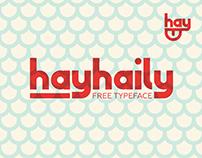 hayhaily Free Typeface