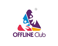 Offline Club - Logo and Stationary Design