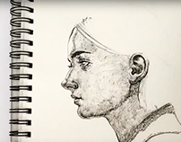 Drawing Portrait in real time
