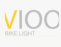 Btwin VIOO bike light and lock