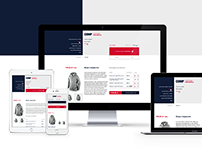 Corporate extranet website