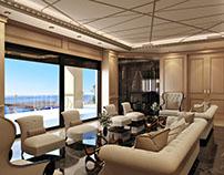 Amazing Villa Interior Design Rendering by ArchiCGI