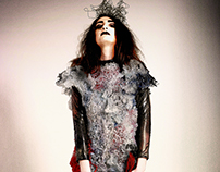"Sculptural Fashion Collection 3 Outfits ""Kakotopia"""
