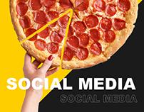 Pizza Bar Social Media