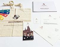 Hogwarts - Brand Identity