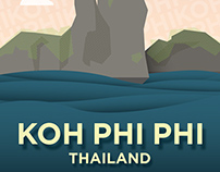Poster | Koh Phi Phi, Thailand