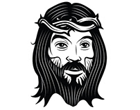Jesus Christ vector clip art