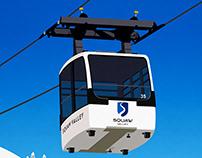 Squaw Valley Ski Resort Poster