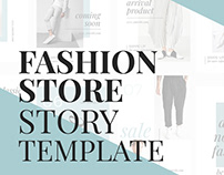 Fashion Store Story Template For Your Online Business