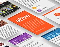Ative | Projeto de TCC Design 2015