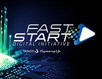 Identidade Visual e Projeto Cenográfico Fast Start