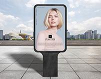 Modern Billboard Poster Mockup Free