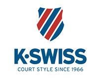K-Swiss website redesign