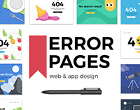 Templates for error pages