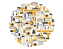 Construction Tools Vector Icons