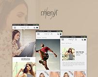 Meryl App for iOS