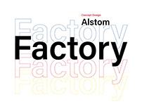 Alstom : Tender Factory