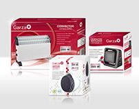 Packaging calefacción y ventilación