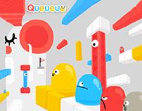 Queueue | 3DS game design