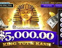 Lotto Games-King Tut's Kash