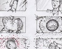 """Un Oeuf Is Enough"" Storyboards (short film)"