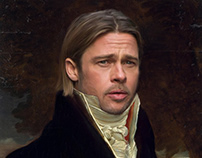 """Sir Brad Pitt"""