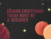Behind Everyting There Must be a Designer