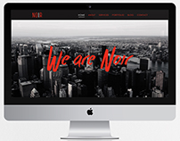 Noir - One Page Website Template