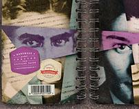 Franz Kafka Handmade Notebook Series
