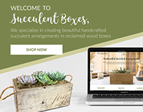 Succulent Boxes Email Campaigns