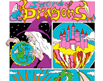 "Comic ""Sword of Dragons"""