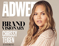 Chrissy Teigen for Adweek